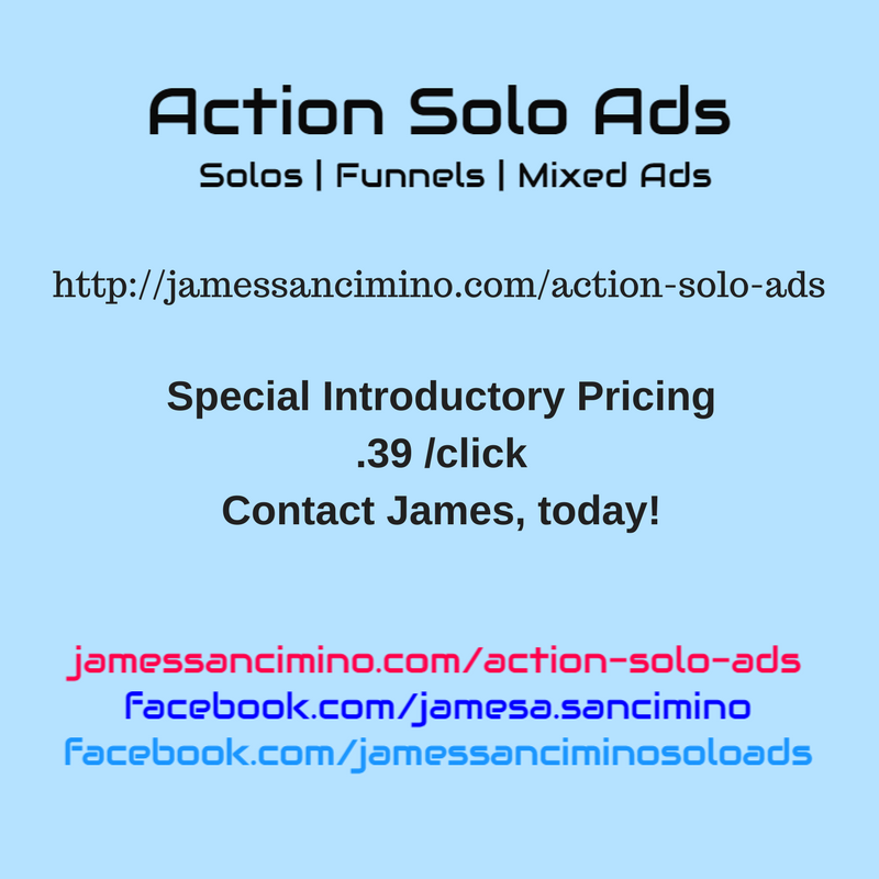 Action Solo Ads - http://jamessancimino.com/action-solo-ads/